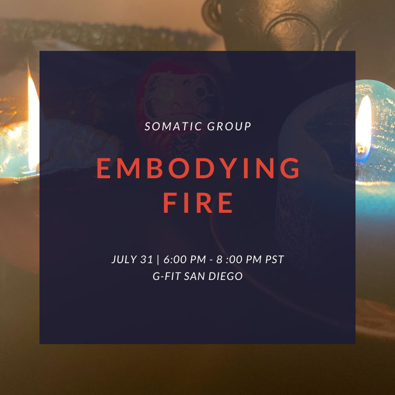 Somatic Group Embodying Fire